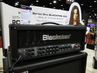 Gus G's signature amp for Blackstar looks cool. How's it sound? We'll give you a preview