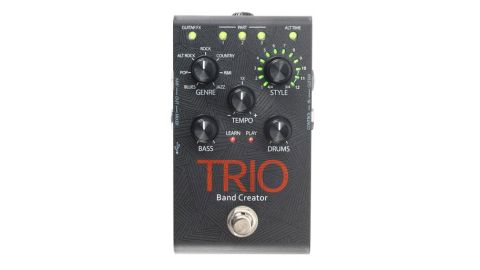 DigiTech's direct expertise in looping and pitch detection technology has paid dividends with the TRIO