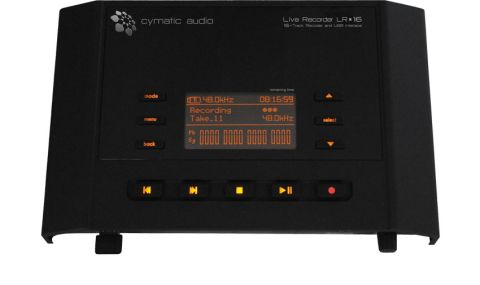 The LR16 offers 16-track recording direct to USB with audio files that you can then transfer to a DAW