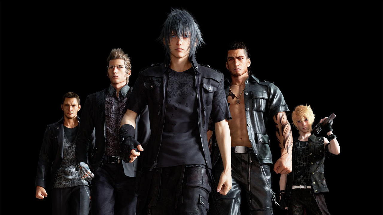 Final Fantasy 15's all-male cast might be exactly what gaming needs |  GamesRadar+