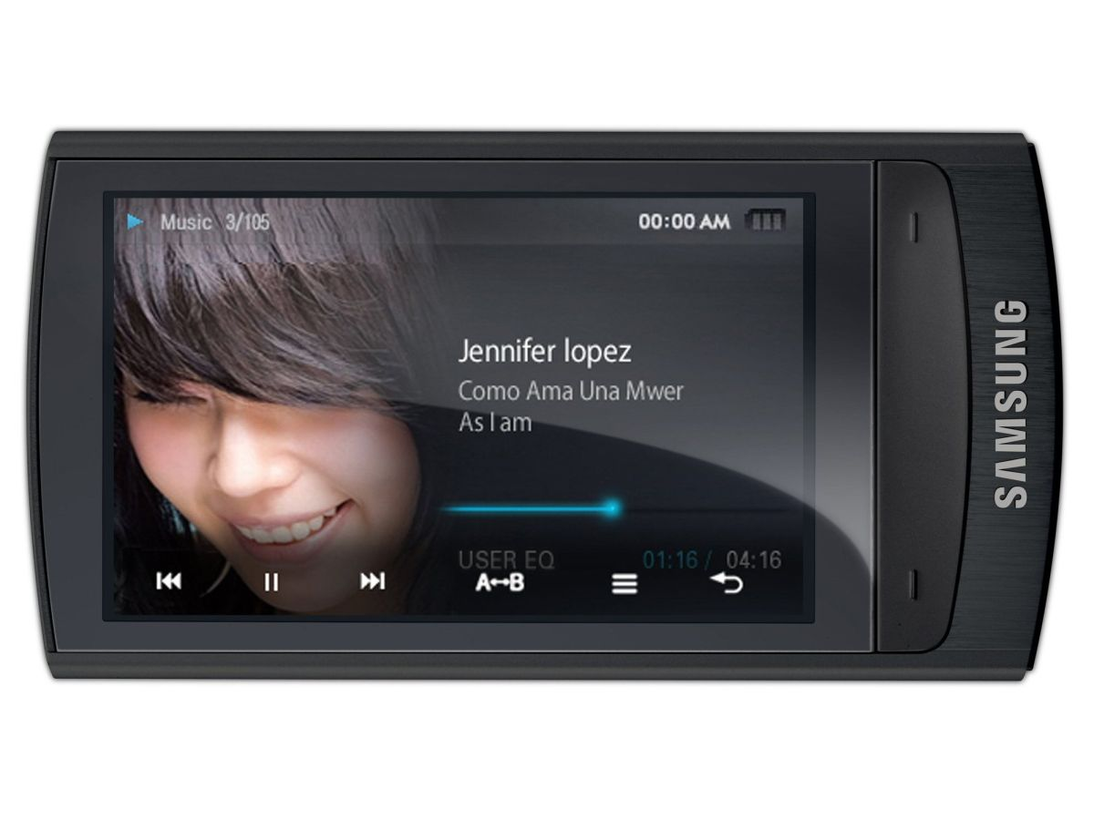 samsung yp r1 mp3 player review techradar. Black Bedroom Furniture Sets. Home Design Ideas