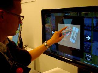 Touschscreen demonstration