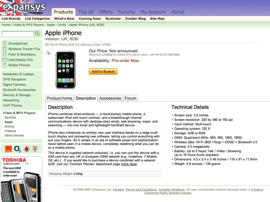 Unlocked iPhone available for pre-order | TechRadar