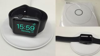 Apple Watch charging dock leak