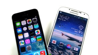 iPhone 5S and Galaxy S4