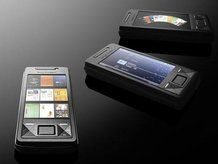 The Sony Ericsson Xperia X1