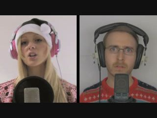 Vocal sparring from Alexa Goddard and Brett Domino.