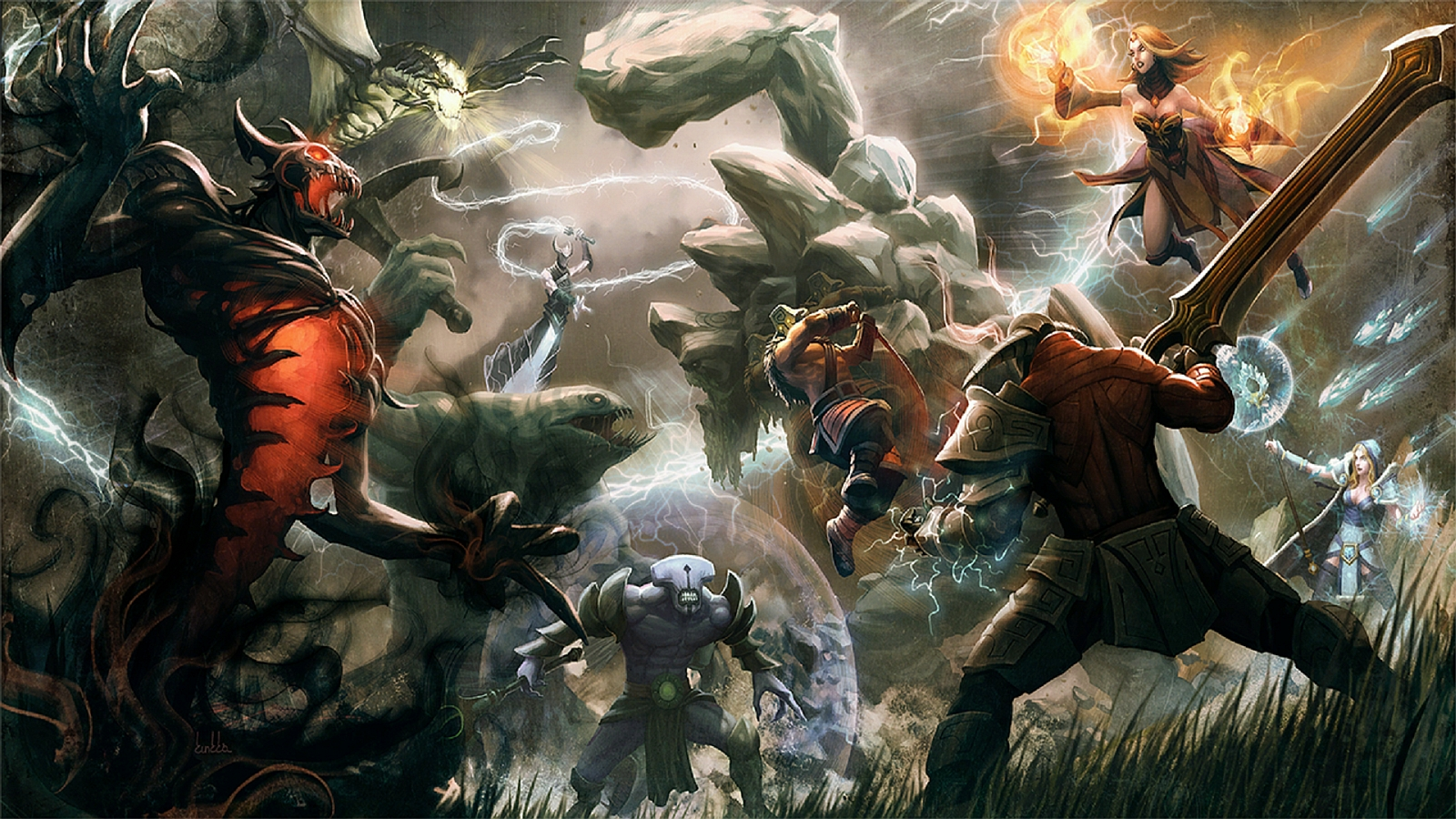 Three Lane Highway: why Dota 2 might not be a MOBA | PC Gamer