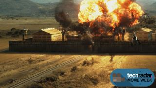 Drone Footage on the Expendables 3