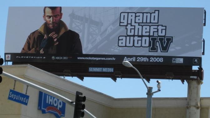 Pics: GTA IV ad blitz begins | GamesRadar+