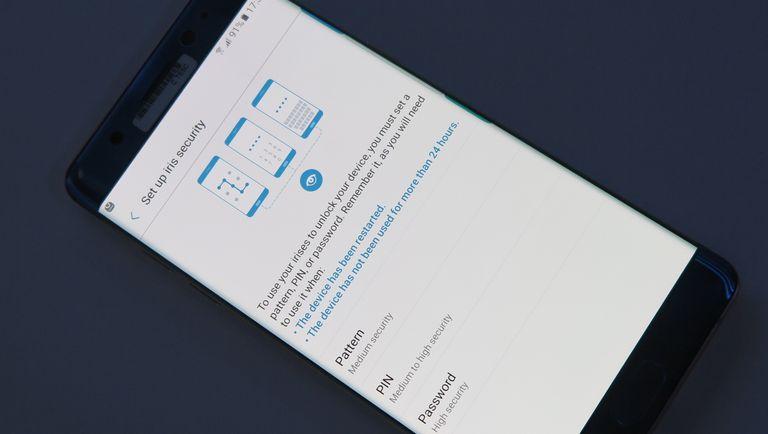 Samsung's Note 7 iris scan tech has been in development for five years