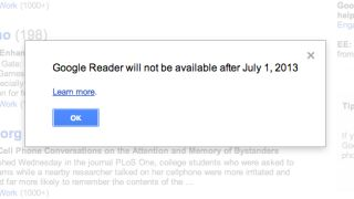 Salvage your Google Reader data by July 15 or it's gone forever