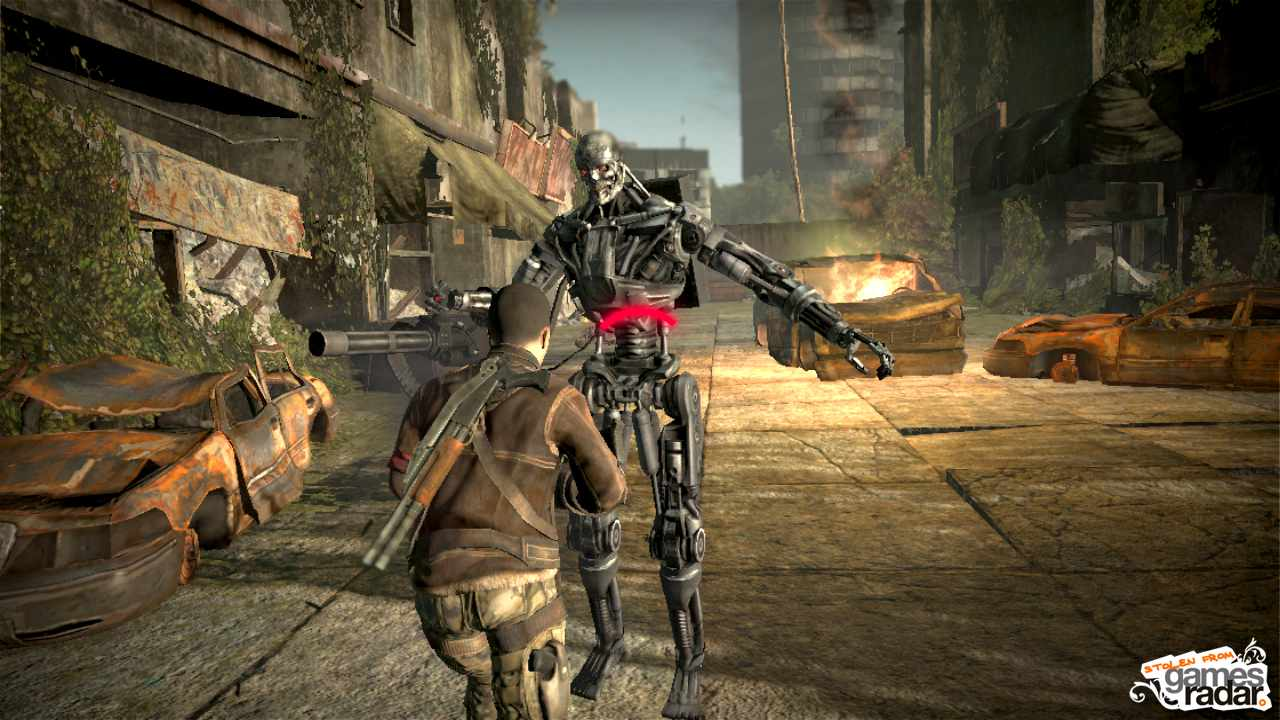 Terminator salvation the videogame gamesradar thecheapjerseys Image collections