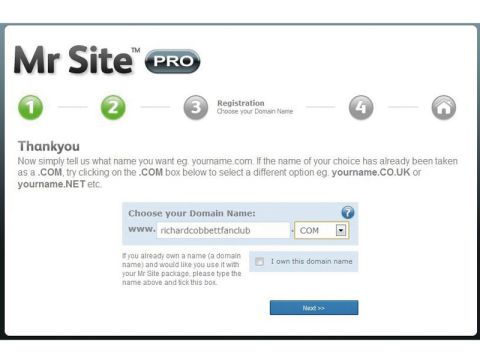 Mr Site Takeaway Website Pro