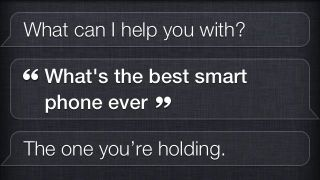Siri changes her tune on which smartphone is the best