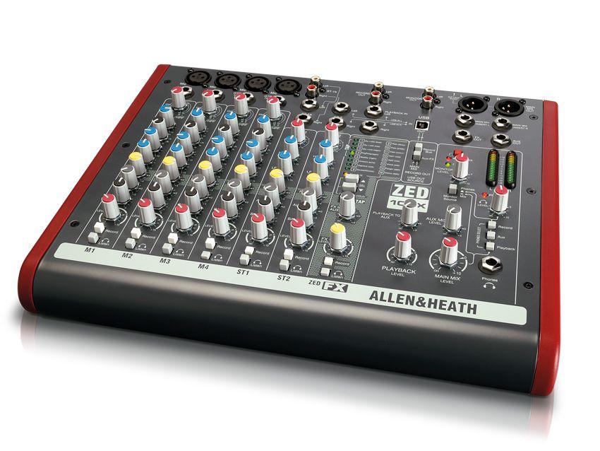 Allen Amp Heath Zed 10fx Review Musicradar