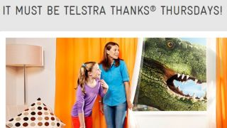 Telstra Thanks Movies Thursday movie rental