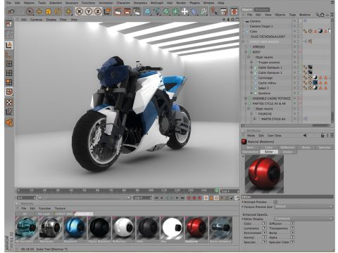 Maxon Cinema 4D 11