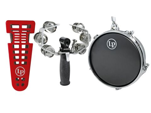 Left to right: One Handed Triangle, Percusso and Micro Snare