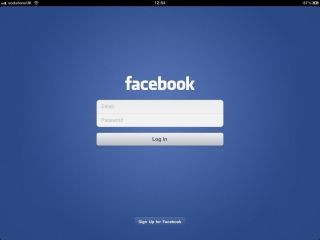 Hands on Facebook for iPad review