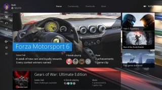 New Xbox One interface
