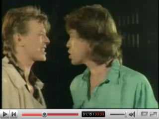 Jagger and Bowie a match made on Hell FM