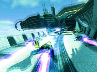 WipEout HD in 3D