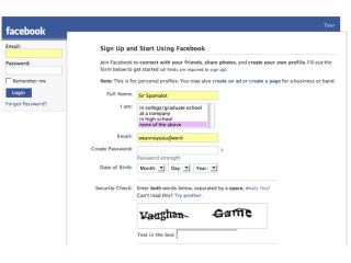 CAPTCHA keeps sites like Facebook (relatively) free of spam