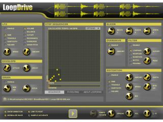 LoopDrive3 enables you to slice and process your beats
