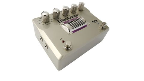 There's a choice of eight modulation effects, each with adjustable speed, feedback and level