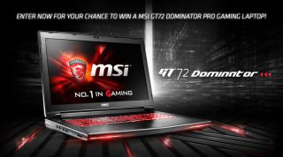 Win a MSI GT72 Dominator Pro laptop | PC Gamer