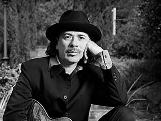 Carlos Santana: bluesman and herb fan