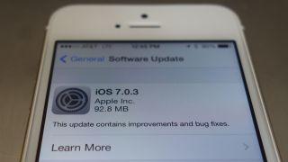 iOS 7 0 3 update