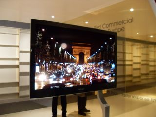 Sony's big screen OLED TV at IFA 2008