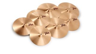 PST7s are crafted from Paiste's original 2002-series B8 bronze, the low-tin content CuSn8