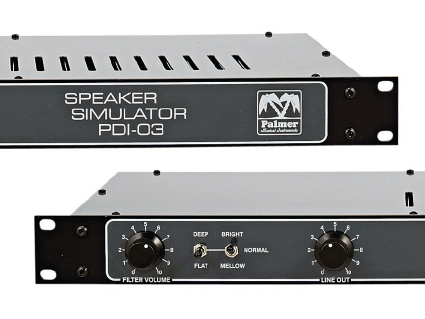 Palmer Pdi 03 Speaker Simulator Review Musicradar