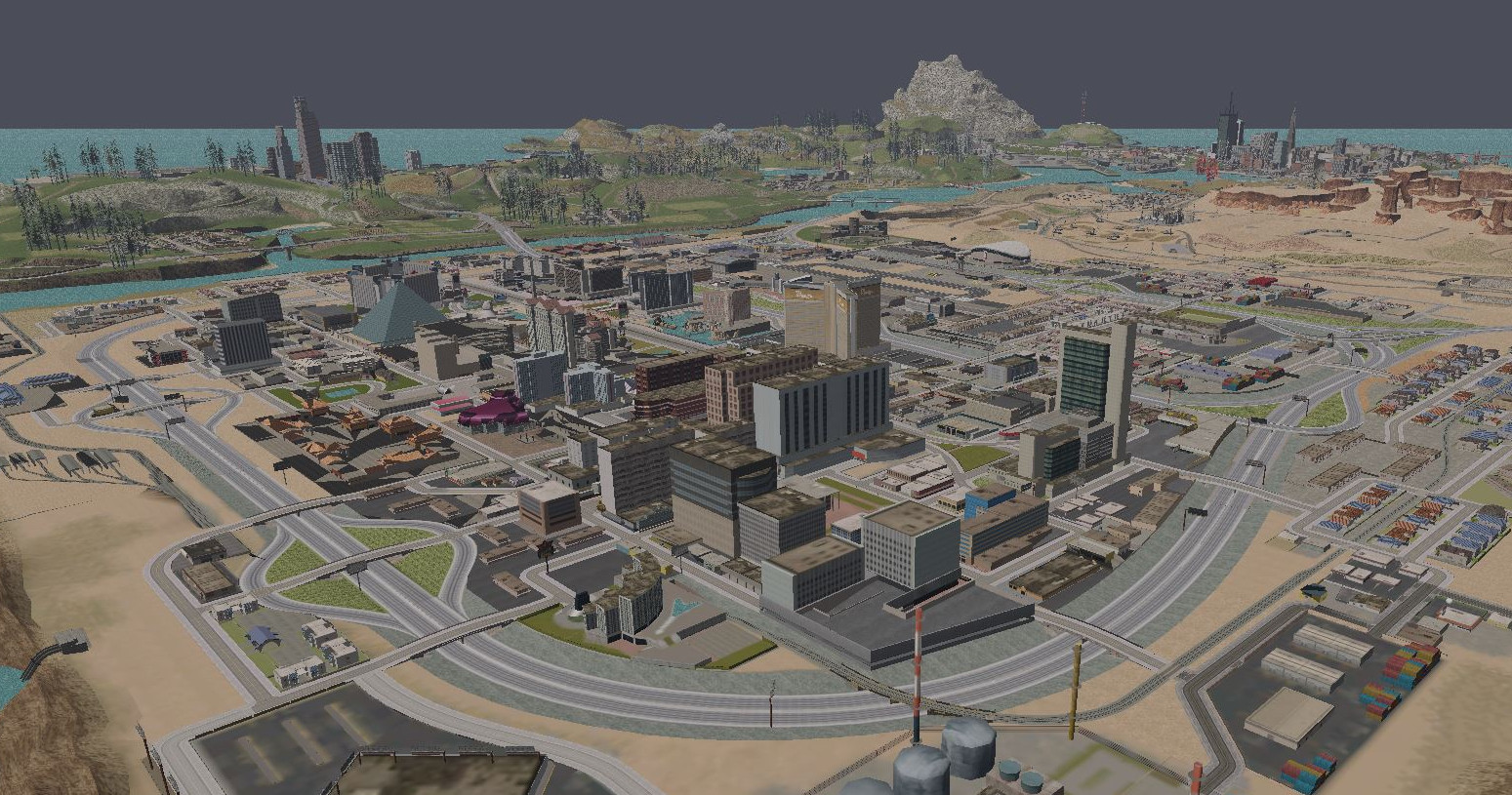 See from one side of GTA: San Andreas to the other in these ... San Andreas City Map on insurgent city map, san andreas airport, hancock city map, grand theft auto 5 city map, san andreas unique stunt jumps, san andreas art, san andreas movie, san andreas stunt jumps insane, san andreas unique jump 1, gta map,