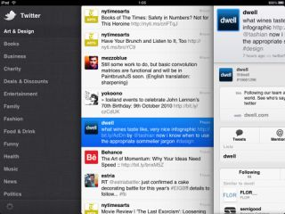 Official Twitter app for iPad introduces Panes and Gestures features