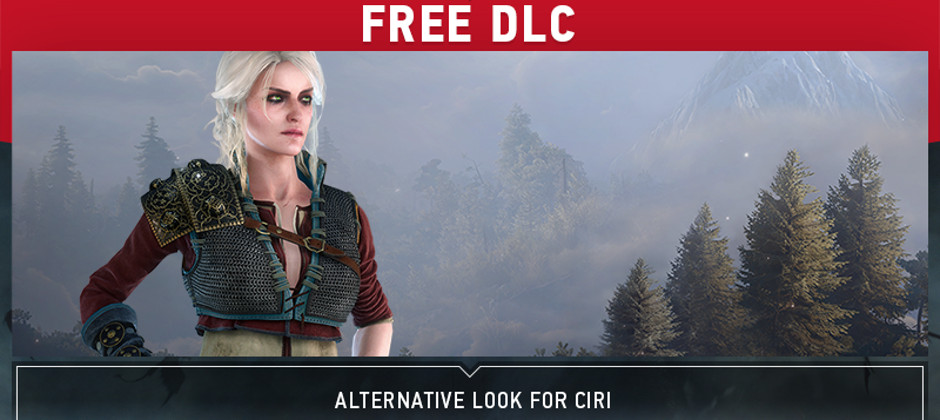 The Witcher 3's Ciri 'alternative look' DLC is coming out for real