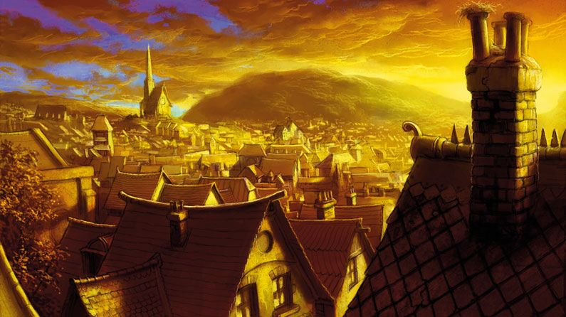 How To Paint Atmospheric Rooftops In Artrage Creative Bloq