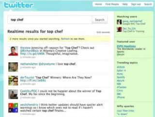 Twitter with integrate search