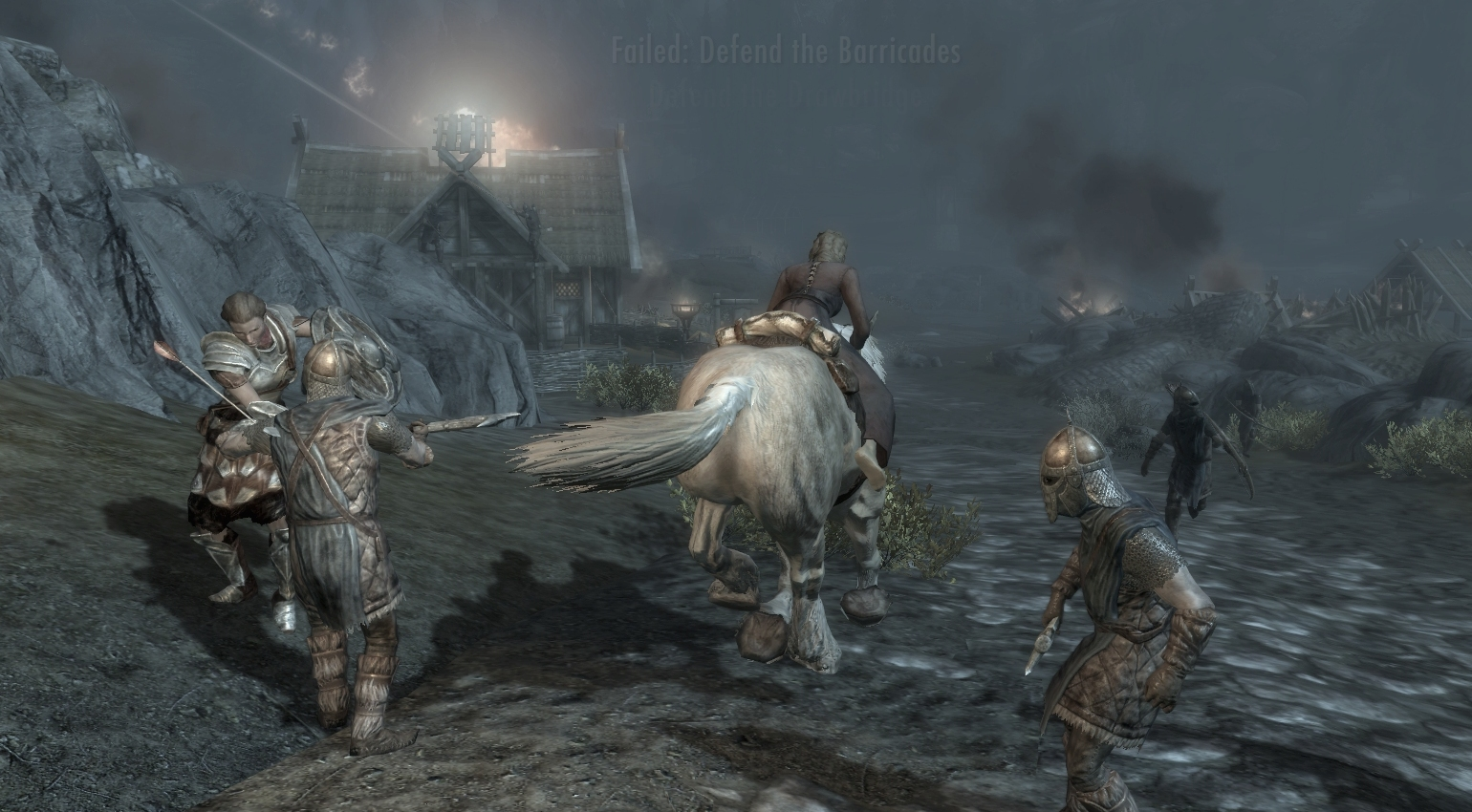 An Illusionist in Skyrim, part 15: the battle of Whiterun | PC Gamer