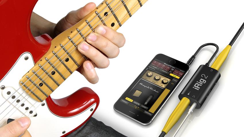 Ik Multimedia Irig 2 Mobile Guitar Sequel to Best Selling Interface Black Color