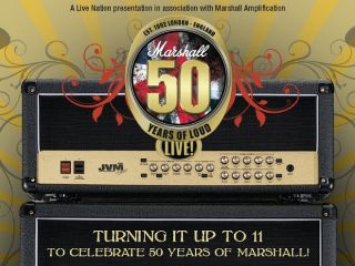 Al Murray to head up Marshall Amps 50th Anniversary Rock n Roll