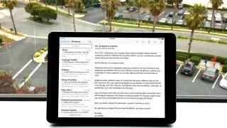 iPad Erase Email