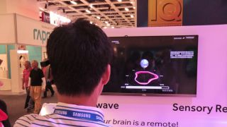 Brain power and eye movement controlling Haier's new TVs