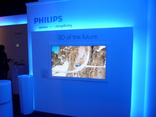 philips glasses free 3d tv