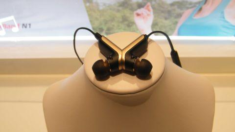 Is this the world's strangest necklace-headset hybrid?