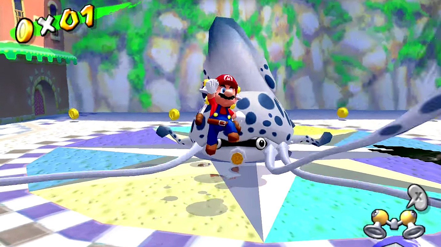 Super Mario Sunshine reaches 60fps with new Dolphin hacks | PC Gamer