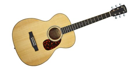 The back and sides might be unusual, but the spruce top is as classic as it gets